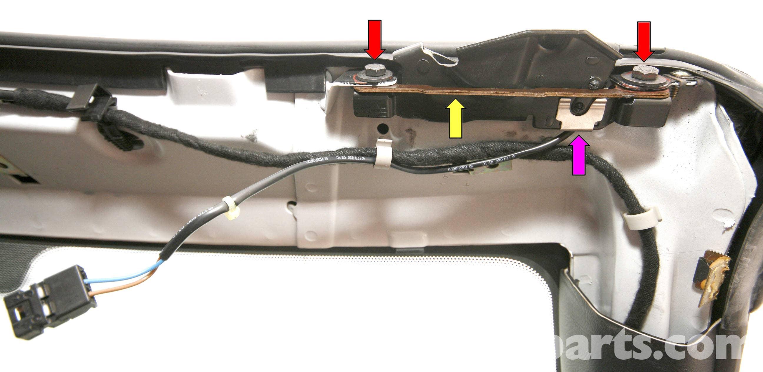 how to open slk roof