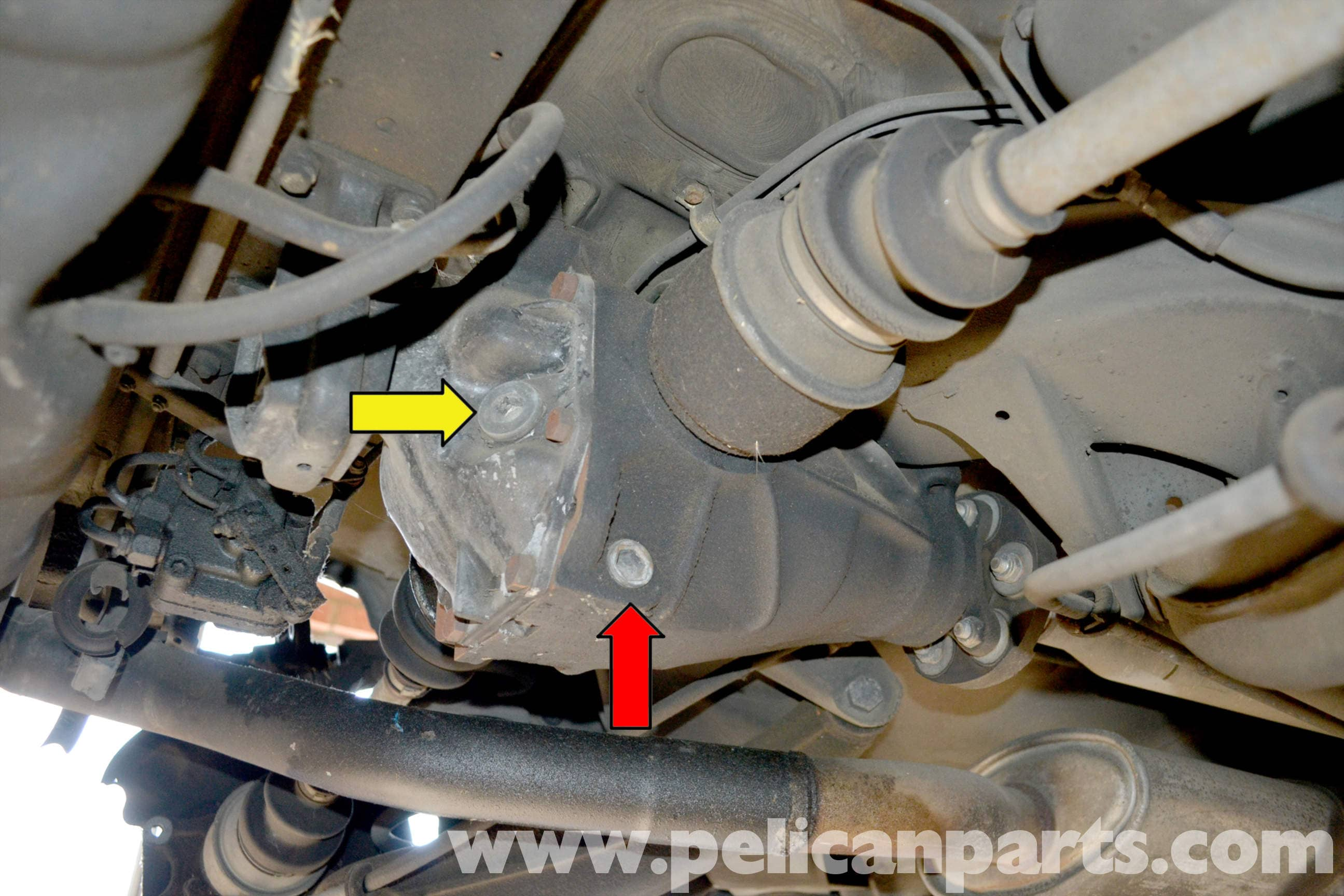Mercedes Benz W123 Replacing Your Differential Fluid