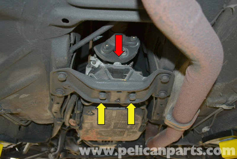 Mercedes Benz W123 Transmission Mount Replacement W123