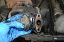 You can now remove the EGR valve from the motor; do not forget to install a new gasket when installing the new valve.