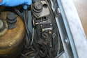 Use an 8mm socket and remove the screw(s) holding the relay to the fender.