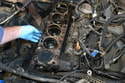 Remove the old gasket.