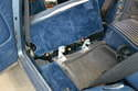 Rear Seat- Once the seat is off the hinges you can remove it from the vehicle.