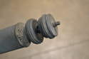 Your new shocks should come with new isolators and washers.
