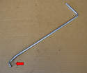 To remove the fan and clutch you will need Mercedes-Benz tool # 104 589 00 01 00 or you can make one out of 6mm rod.