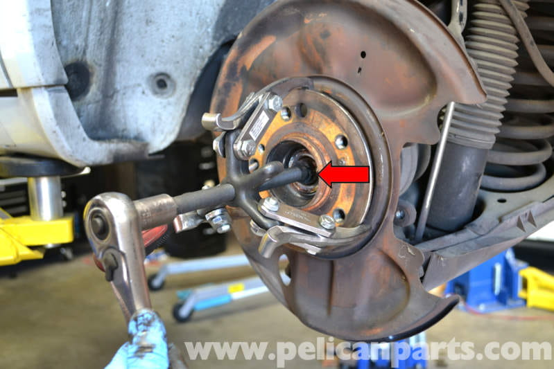Mercedes Benz W124 Rear Bearing Replacement 1986 1995 E
