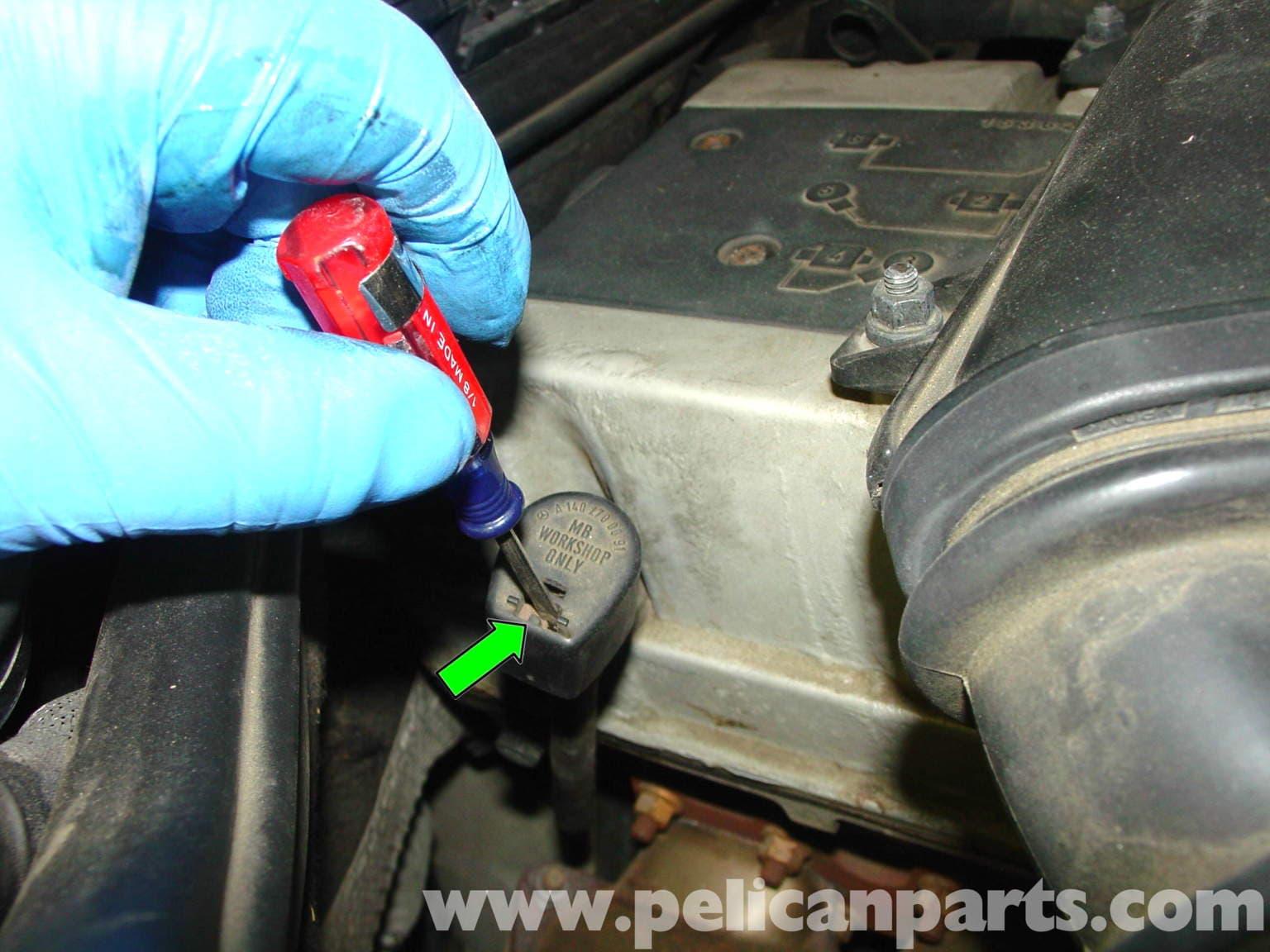 Mercedes benz w124 automatic transmission fluid and filter for Mercedes benz transmission oil