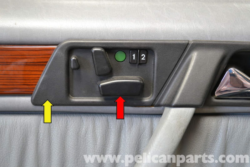 Mercedes Benz W124 Power Seat Control Switch Replacement