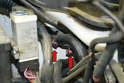 If you are replacing the heater core hoses, they attach to the core by standard hose clamps.