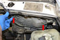 Bulb Replacement- With the air box panel removed you will have access to the rear of the headlight unit.