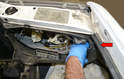 Headlight Removal- To remove the headlight unit you will first need to remove the turn indicator light.