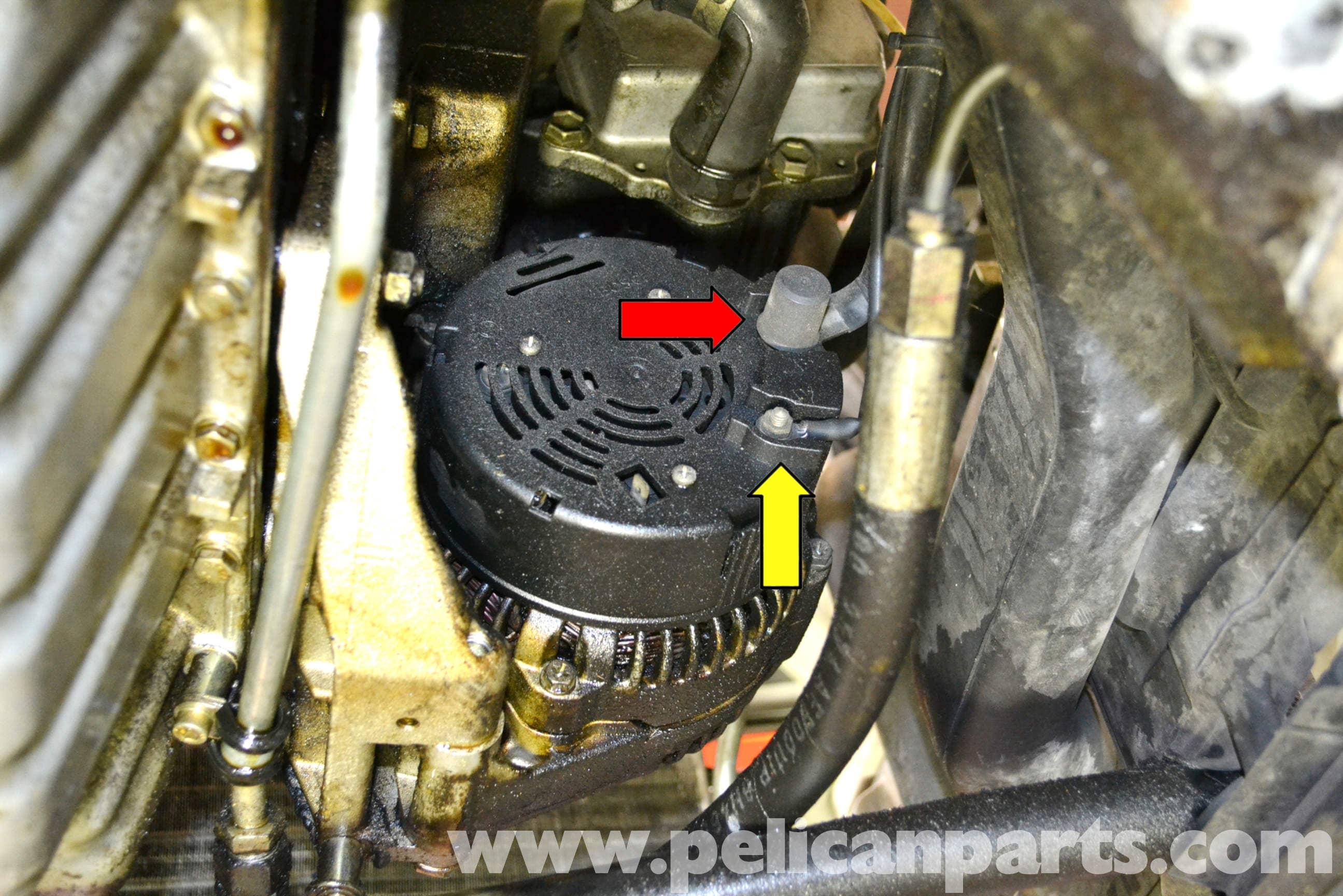 Mercedes Benz W124 Voltage Regulator Replacement 1986
