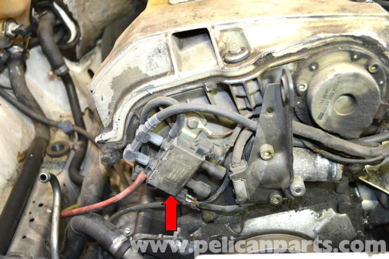 Mercedes Benz W124 Egr Change Over Valve Replacement
