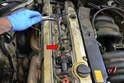 Use a 5/8th-inch thin walled spark plug socket and remove the plugs.