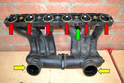 Inspect all the gaskets, hoses and lines for damage or excessive wear and replace as needed.