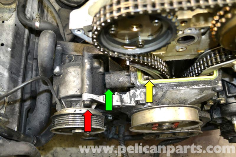 Mercedes benz w124 timing chain tensioner replacement for Mercedes benz timing belt