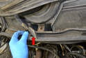 Wiper Assembly-There is a small plastic grate under the wiper motor.
