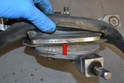 Wiper Gasket- You can now release the gasket clip that holds the gasket in place.