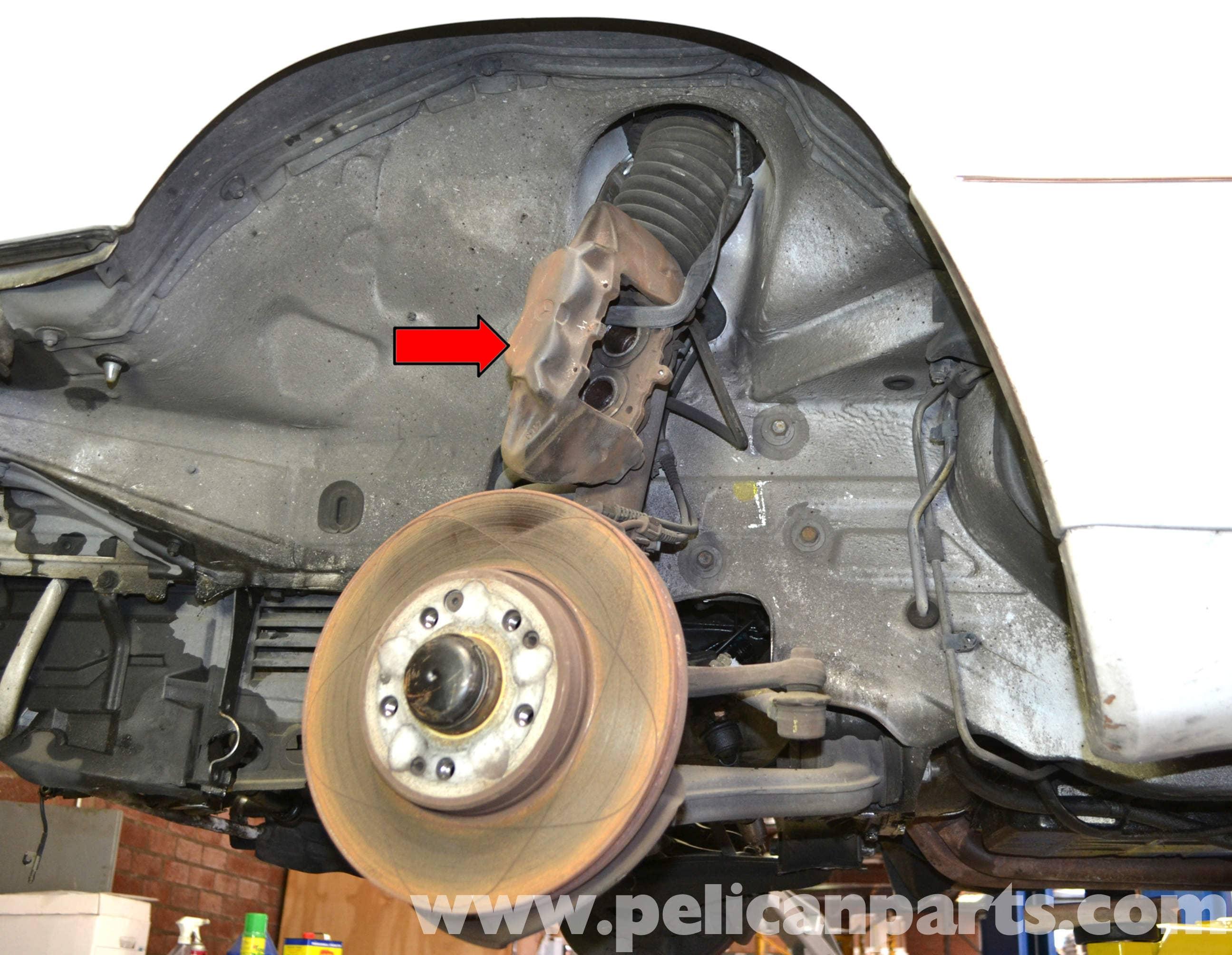 Mercedes Benz W124 Front Brake Caliper Replacement 1986