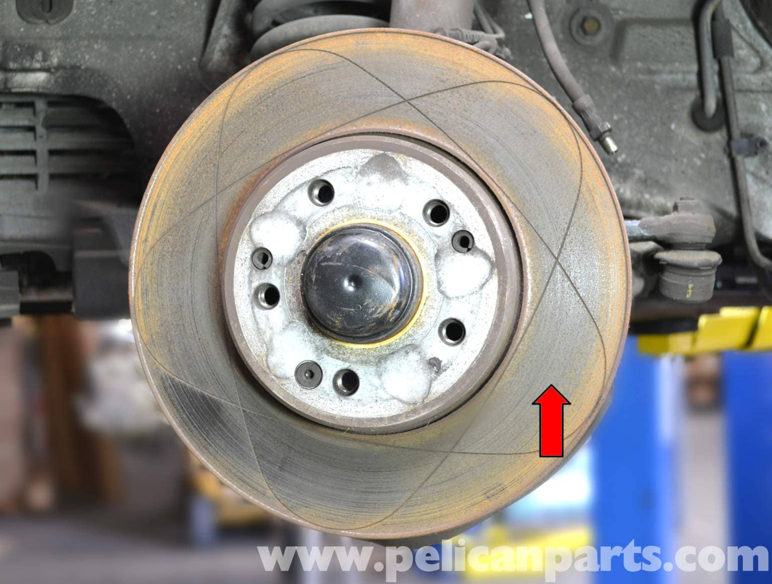 Mercedes benz w124 front brake rotor replacement 1986 for Mercedes benz rotors replacement