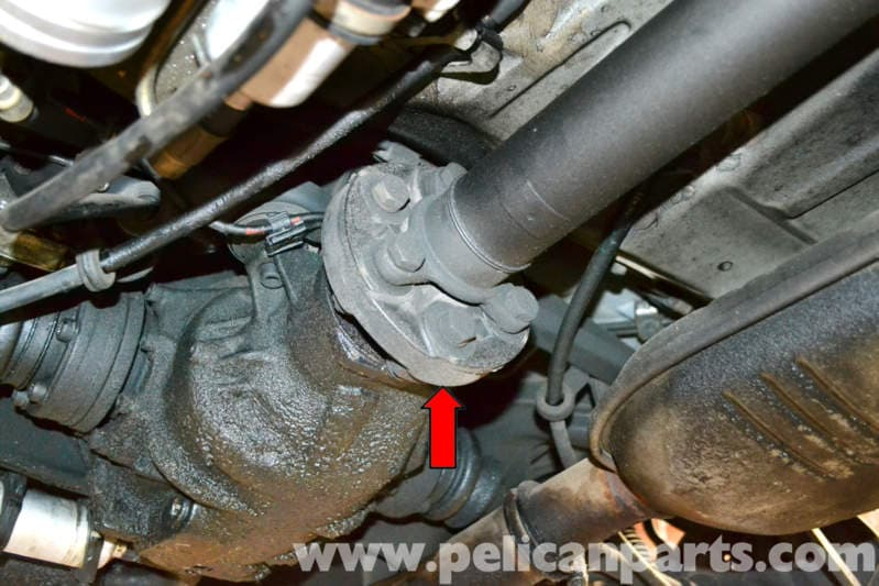 Mercedes Benz W124 Front And Rear Flex Disc Replacement