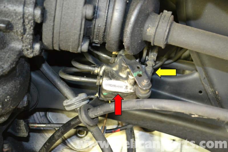 Mercedes Benz W124 Rear Hydraulic Leveling Unit
