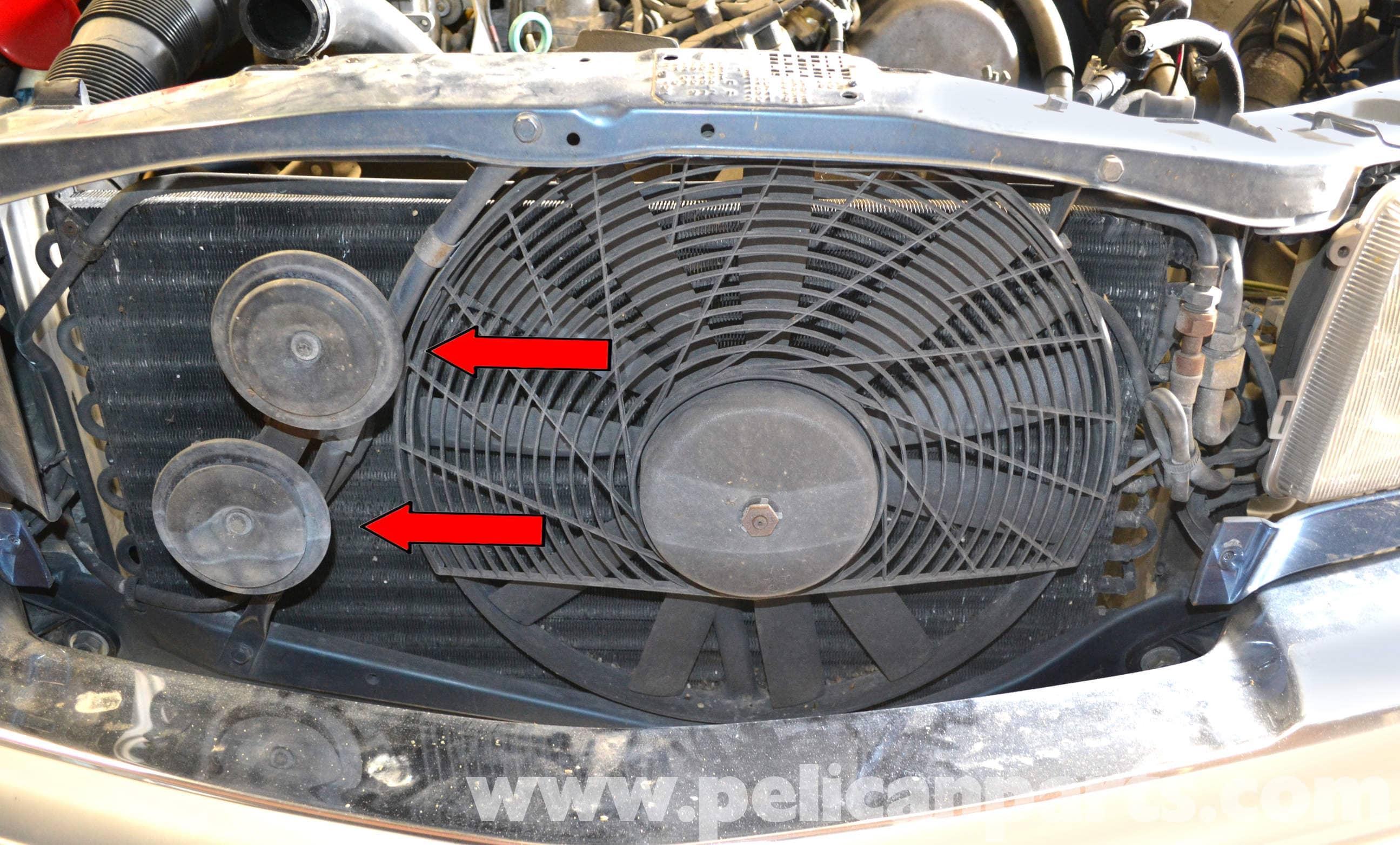 Mercedes benz w126 horn replacement 1981 1991 s class for Mercedes benz horn