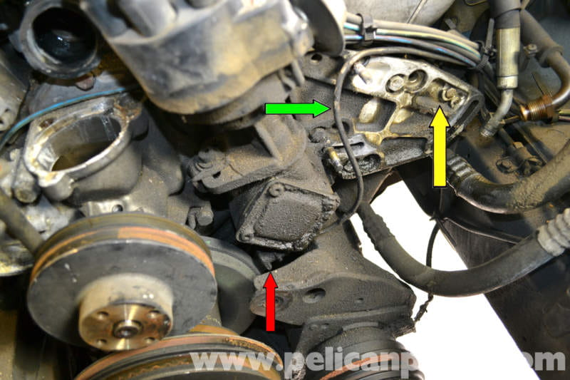 Mercedes Benz W126 Top Dead Center Sensor Replacement