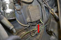 Remove the wire from the distributor and follow it ignition control box on the inner left fender right beside the coil.
