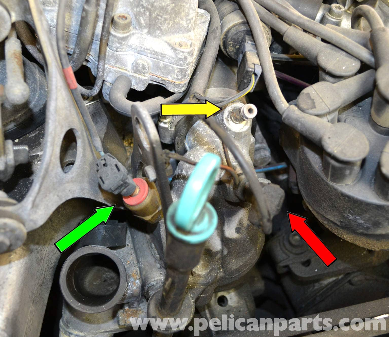 Mercedes Benz W126 Thermostat Replacement 1981 1991 S