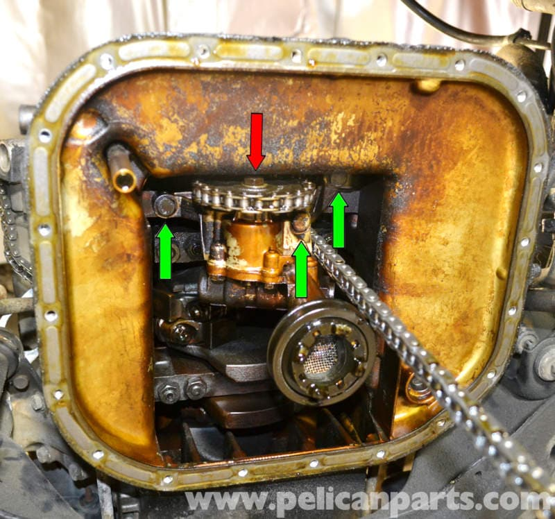 Mercedes Benz W126 Oil Pump Replacement 1981 1991 S