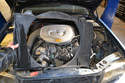 With the radiator gone the shroud can easily be removed from the engine bay.