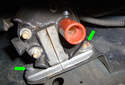 This Picture illustrates the second ignition coil.