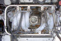 This Picture illustrates the top of the engine looking down.