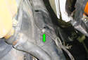Follow the harness until you come to the first holder on the right side front frame in the engine compartment and remove it from the frame rail.
