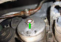 Don't forget on the front of the fuel filter there is another copper sealing washer, you will have to replace the copper sealing washers.