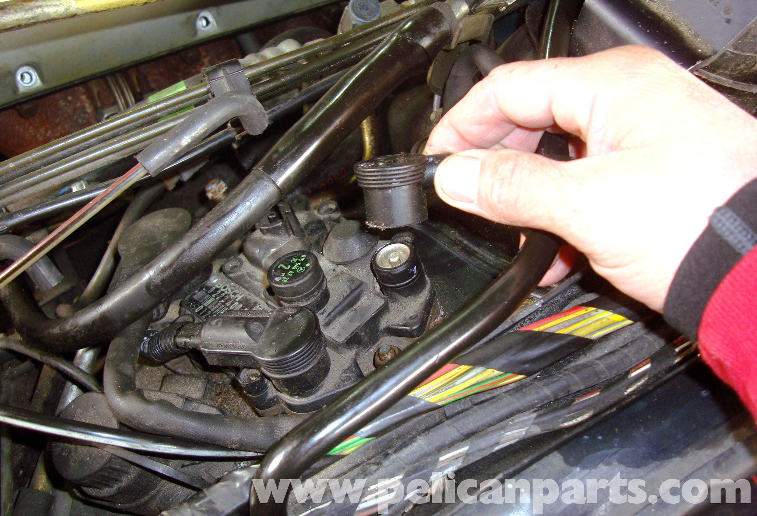 Mercedes Benz Wiring Harness Solidfonts R Image Diagram R129 Crankshaft Position Sensor Removal Sl500 On