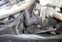 There is a metal snap ring that holds the camshaft position sensor plug to the cam sensor.