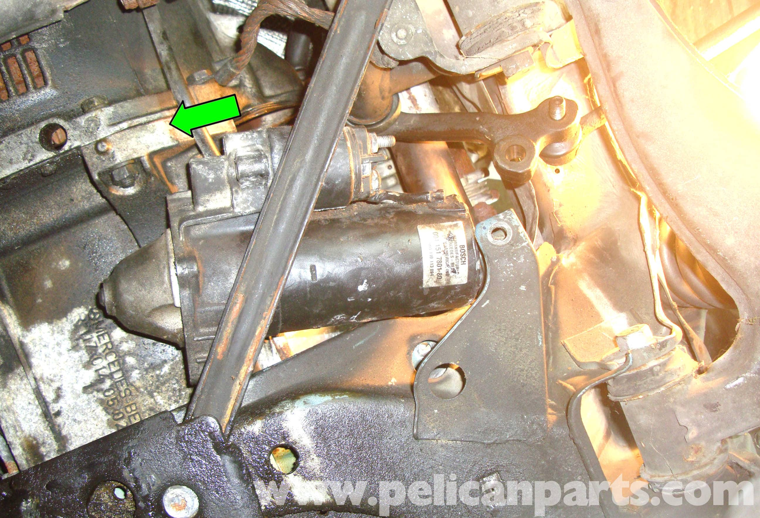Mercedes-benz R129 Starter Replacement