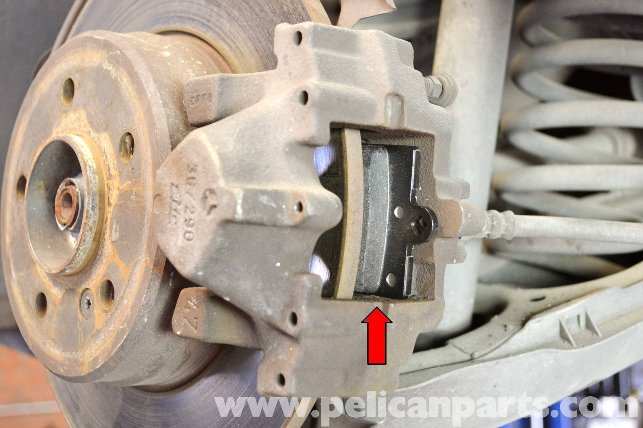 Mercedes benz w203 rear brake pad replacement 2001 2007 for Mercedes benz rotors replacement