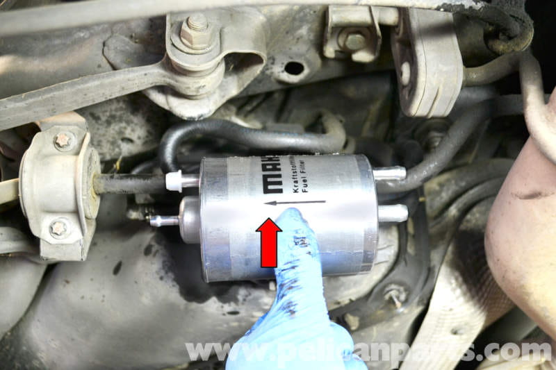 Mercedes Benz W203 Fuel Filter Replacement 2001 2007