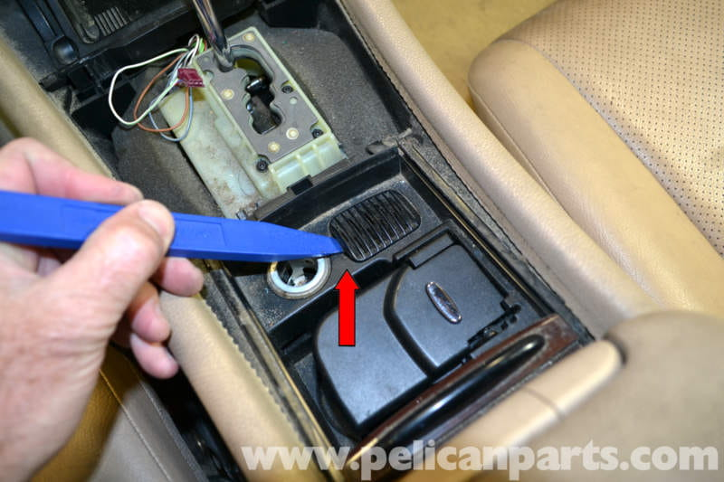 Mercedes Benz W203 Lower Center Console Removal 2001