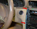 Begin by removing your upper center console.