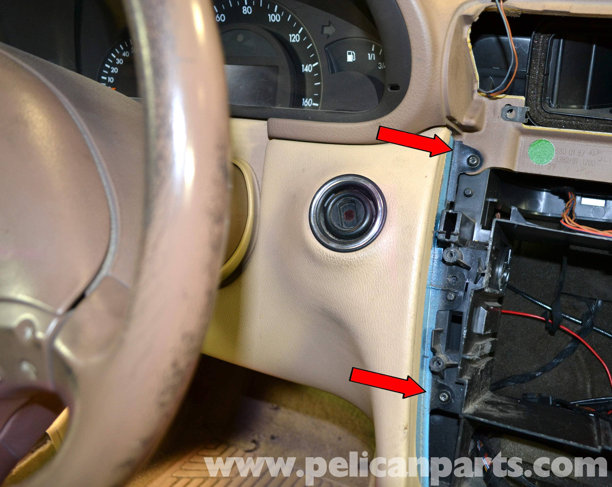 mercedes w124 e320 wiring diagram    mercedes    benz w203 lower driver side dash removal  2001     mercedes    benz w203 lower driver side dash removal  2001