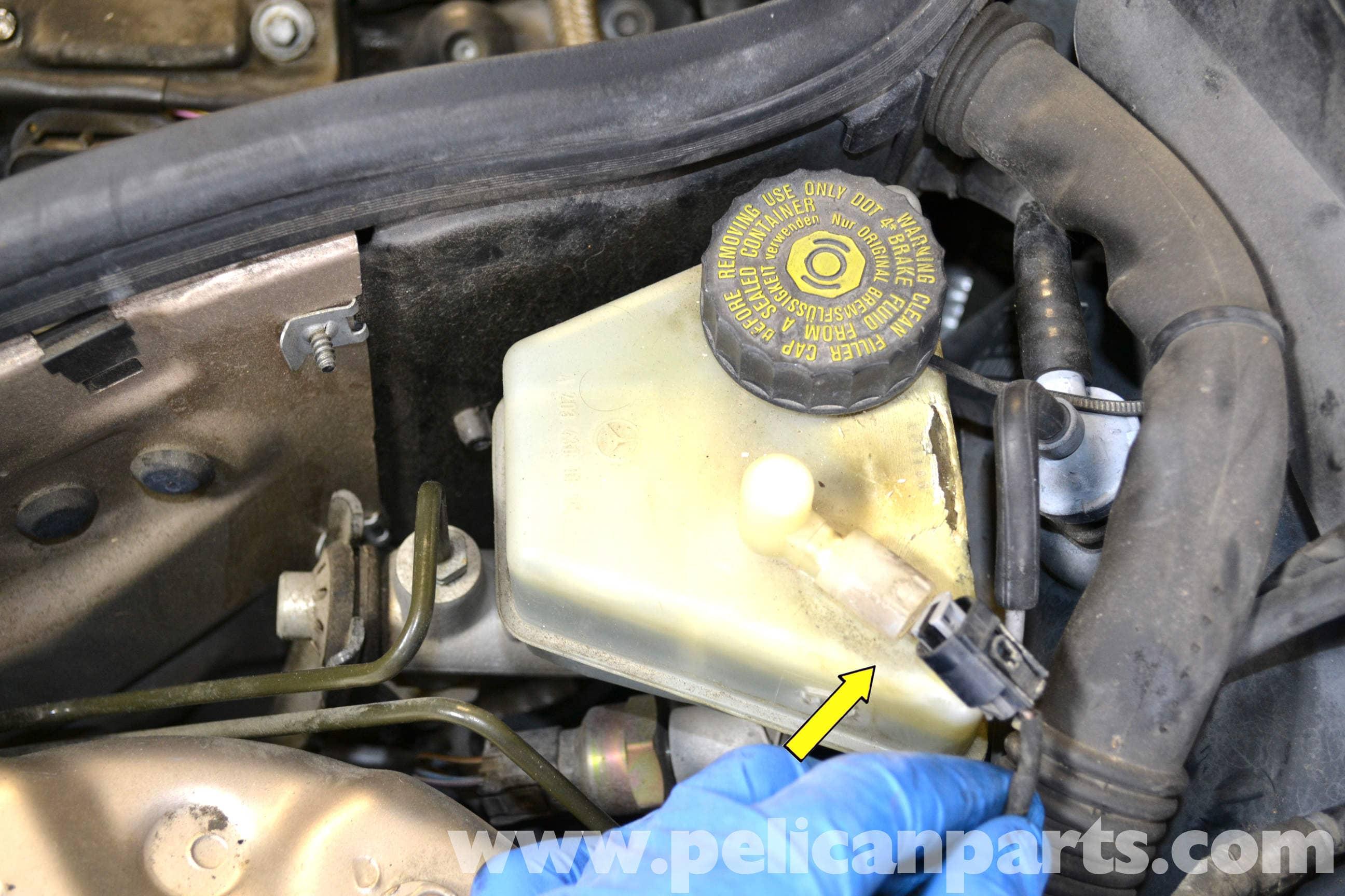 Mercedes benz w203 master cylinder and brake fluid for Mercedes benz installing parking sensors aftermarket