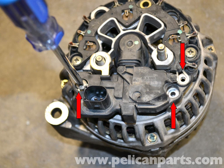Mercedes benz w203 voltage regulator replacement 2001 for Mercedes benz alternator repair cost
