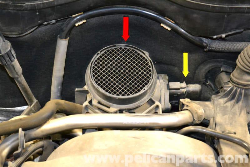 Mercedes R Matic  Crank Sensor Location