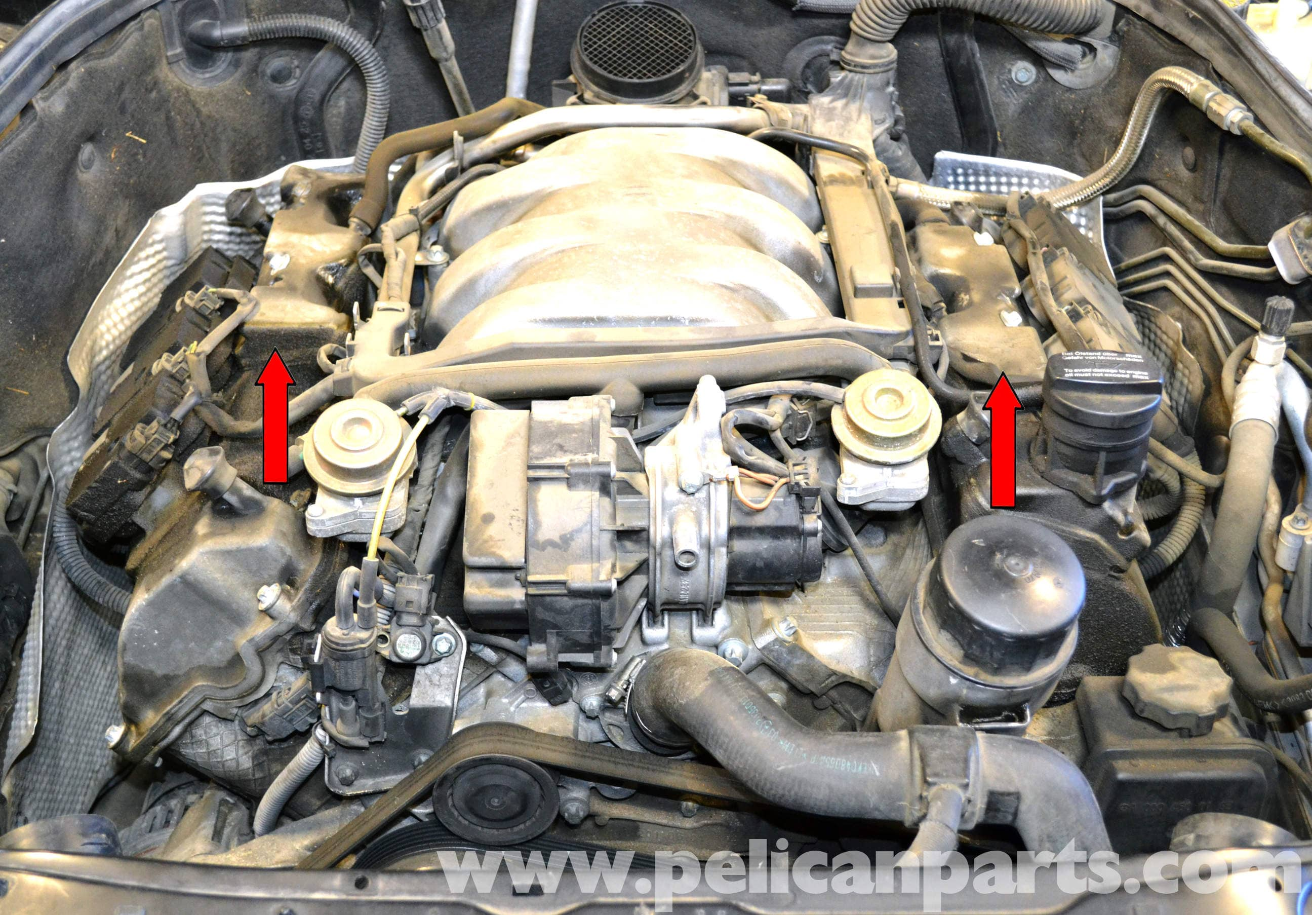 Mercedes Benz W203 Spark Plug And Coil Replacement 2001