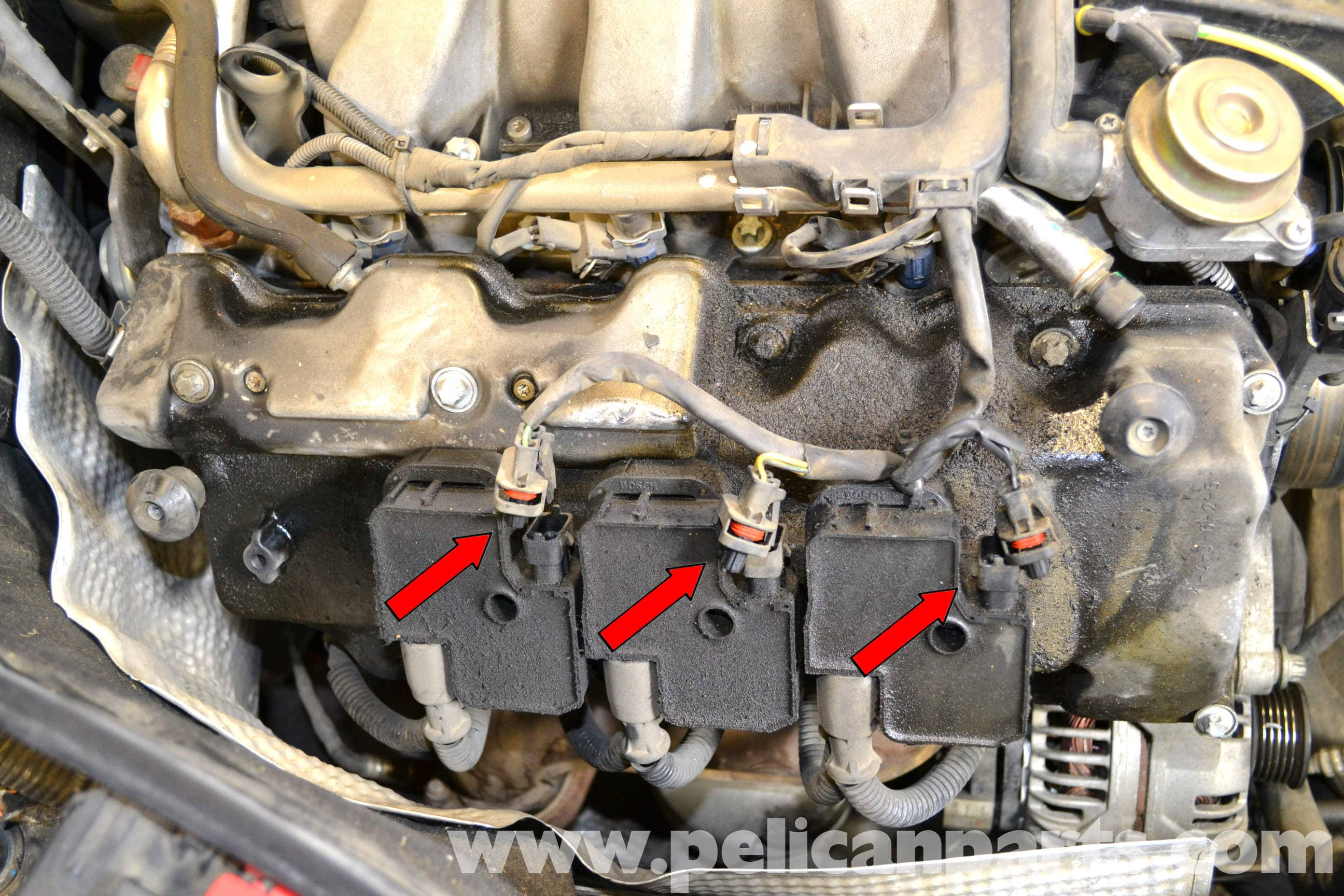 Mercedes-Benz W203 Spark Plug and Coil Replacement - (2001 ...