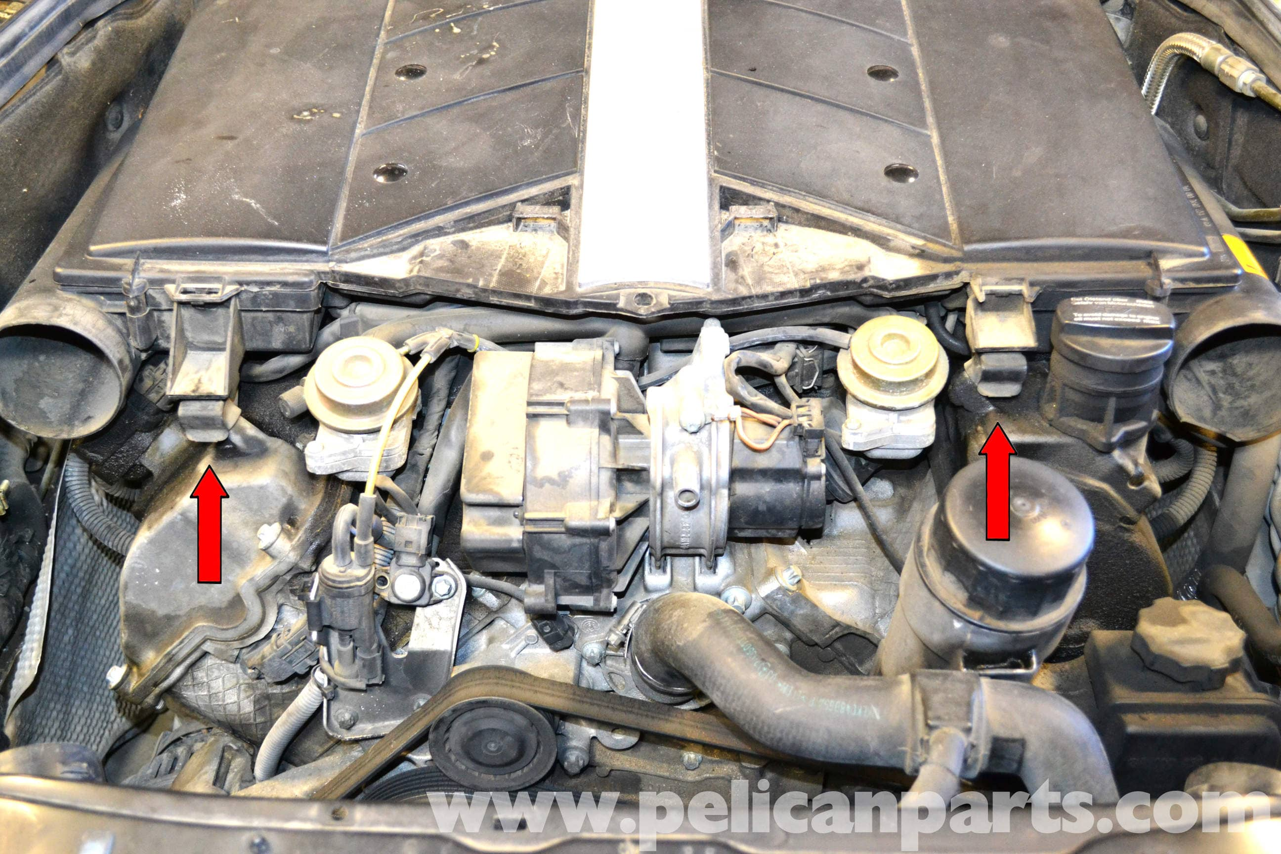 mercedes benz w203 valve cover gasket replacement 2001. Black Bedroom Furniture Sets. Home Design Ideas